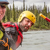 "Outdoor Adventures student guides Lily Grbavach and Pat Karr helped lead a group of UAF students and staff on a float trip down the Nenana River in June, 2014.  <div class=""ss-paypal-button"">Filename: OUT-14-4211-205.jpg</div><div class=""ss-paypal-button-end""></div>"