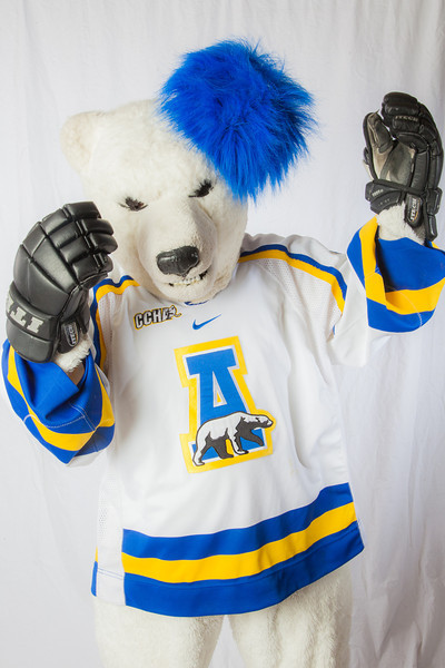 """The Nanook mascot poses for photos during UAF's InsideOut event.  <div class=""""ss-paypal-button"""">Filename: LIF-12-3334-145.jpg</div><div class=""""ss-paypal-button-end"""" style=""""""""></div>"""