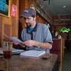 "Matt Chacho takes advantage of some time in the Wood Center Pub to prep for an upcoming test in his calculus class.  <div class=""ss-paypal-button"">Filename: LIF-11-3217-170.jpg</div><div class=""ss-paypal-button-end"" style=""""></div>"