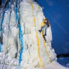 "A competitor descends from the top of the ice wall in after his climb during a fun event on March 1.  <div class=""ss-paypal-button"">Filename: LIF-13-3748-23.jpg</div><div class=""ss-paypal-button-end"" style=""""></div>"