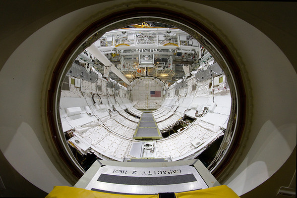 """Space Shuttle Discovery """"Road to the Smithsonian"""""""