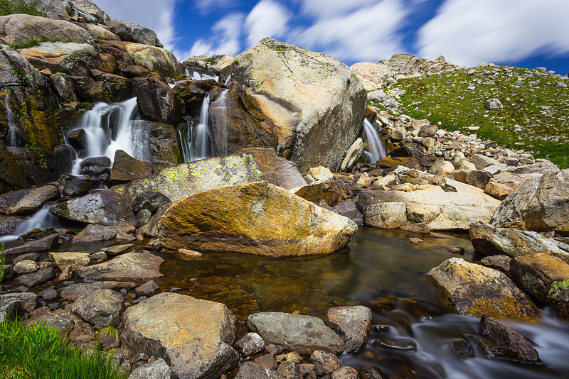Indian Basin Cascades