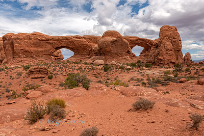 Double Arch formation