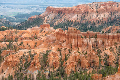 Morning view from Sunrise Point, Bryce Canyon National Park., Utah.