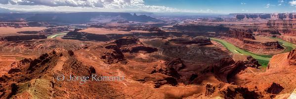 Canyonlands National Park panorama