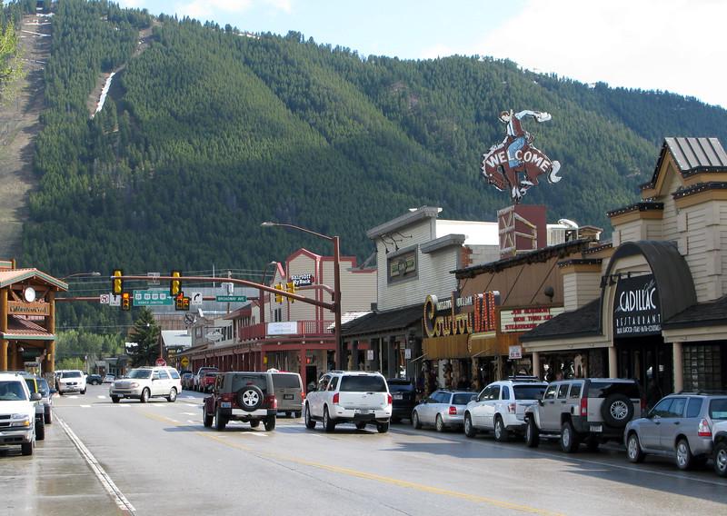 Downtown Jackson, Wyoming
