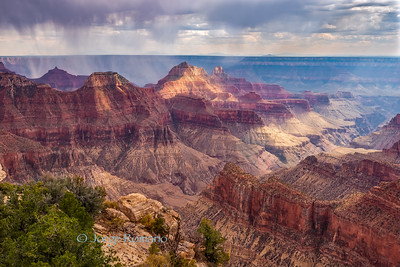 View of the Grand Canyon from Bright Angel Point