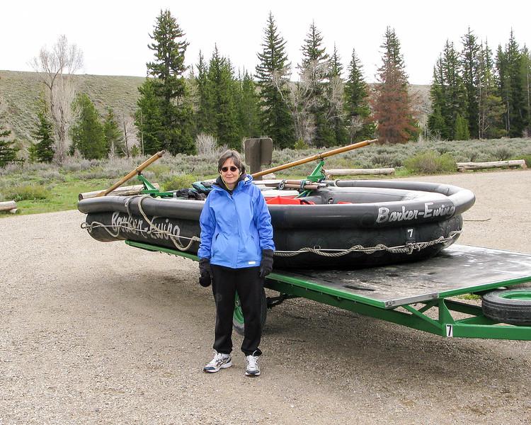 Rafting down the Snake River - Grand Teton