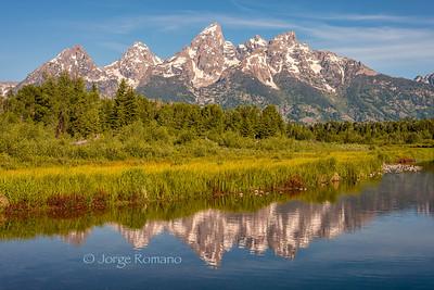 Grand Teton Mountains and the Snake River, Grand Teton National Park