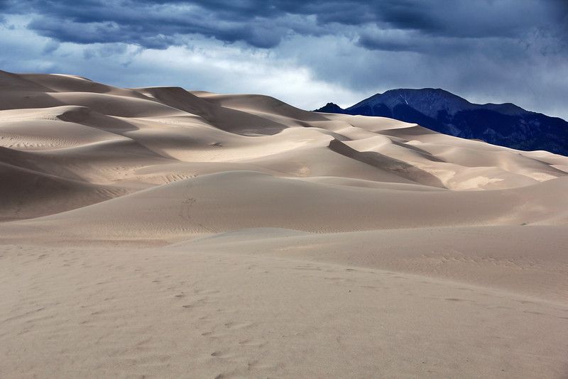 Great Sand Dunes and  Mount Herard
