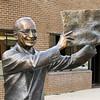 Truman holding famous newspaper 'Dewey Defeats Truman'