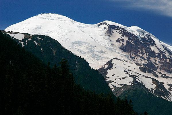 Mount Rainier and Emmons Glacier