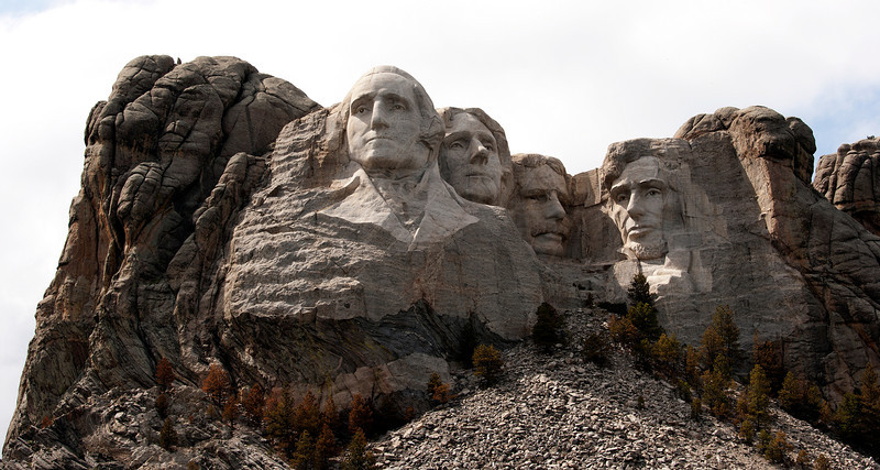 Washington, Jefferson, Teddy Roosevelt & Abraham Lincoln
