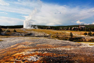 Lower Geyser Basin