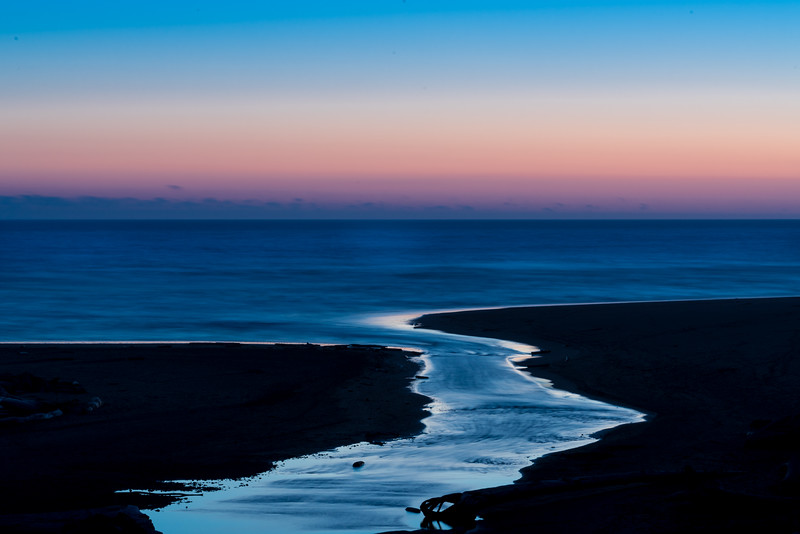 Kalaloch Creek Sunset