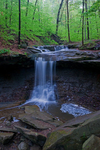 Blue Hen Falls in Cuyahoga National Park