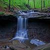 Blue Hen Falls in Cuyahoga National Park