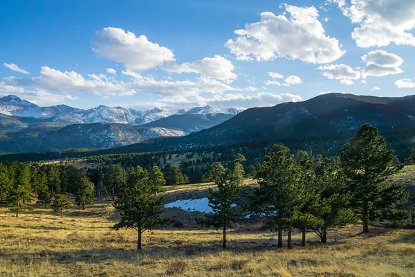 Sheep Lakes, Rocky Mountain National Park, Colorado, USA