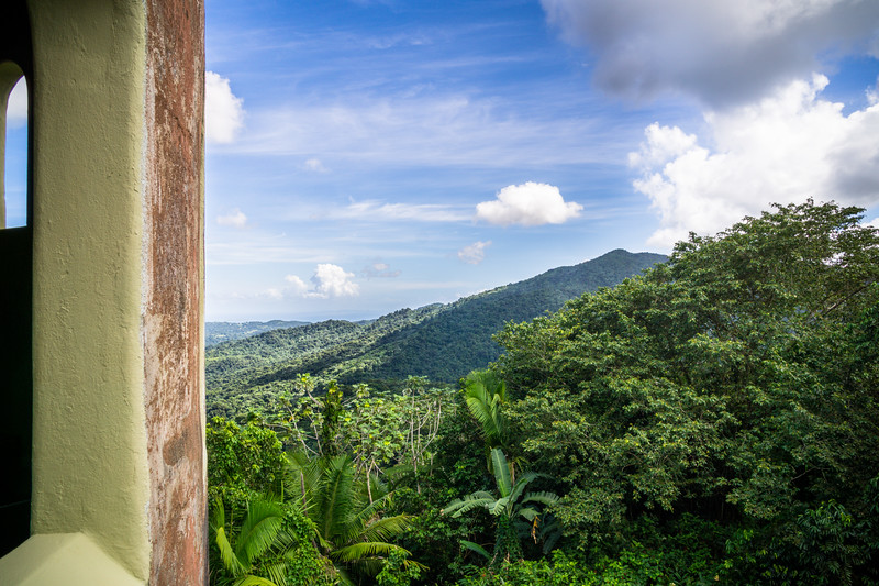 Yokahu Tower, El Yunque National Forest, Puerto Rico, USA