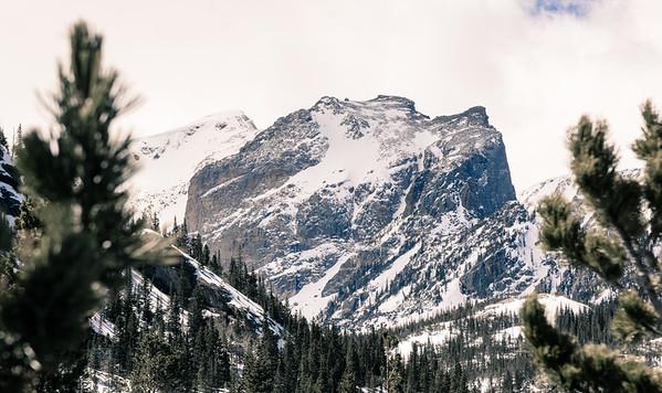 Glacier Gorge Trail, Rocky Mountain National Park, Colorado, USA