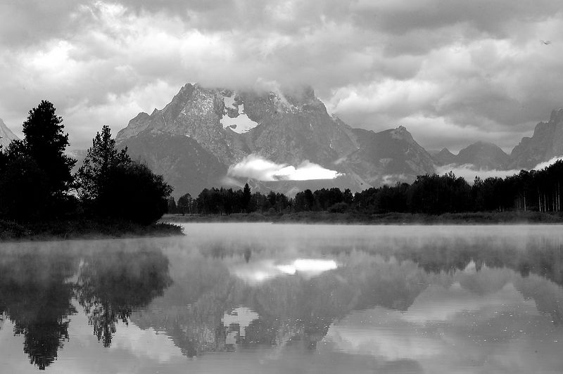 20040824_7657 mt moran at oxbow bend b&w