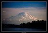 Mount Ranier, on the trip back from Bremerton on the ferry.