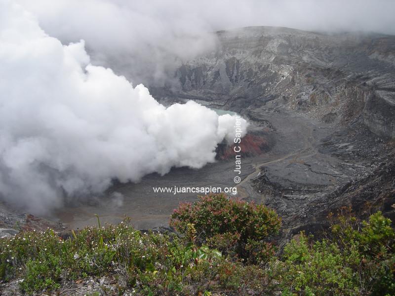 Volcan Poas 2. Belleza de Costa Rica