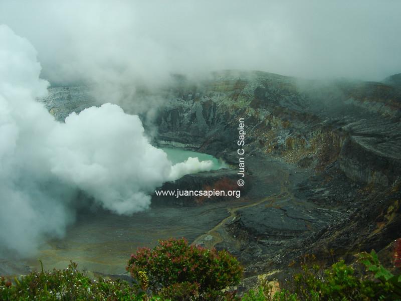 Volcan Poas 1. Belleza de Costa Rica