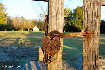 Rusty Key Lock