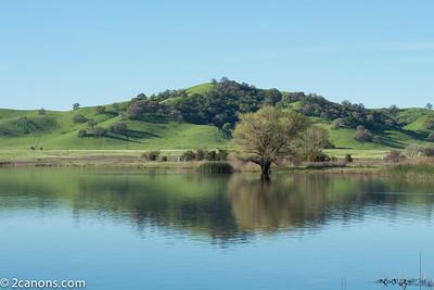 Lagoon Valley Park in Vacaville, California.