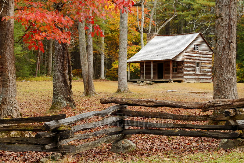 Carter-Shields Cabin, Cades Cove, Great Smoky Mountains National Park