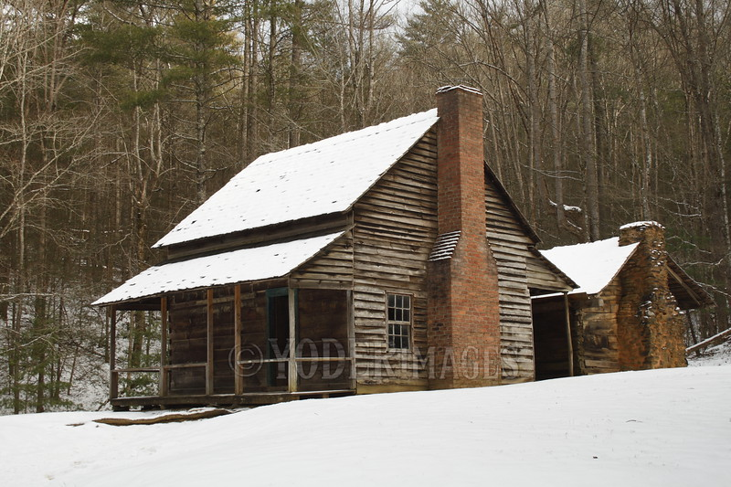 Henry Whitehead Cabin, Cades Cove, Great Smoky Mountains National Park