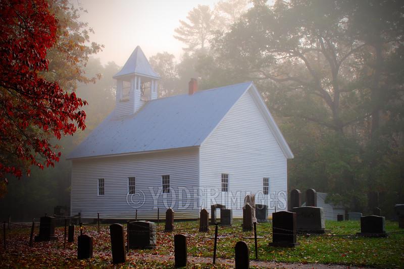 Cades Cove Primitive Baptist Church, Great Smoky Mountains National Park