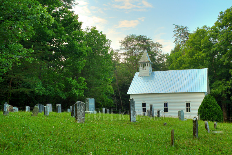 Cades Cove Methodist Church and Cemetery, Cades Cove, Great Smoky Mountains National Park