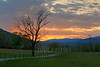 Sunrise, Cades Cove, Great Smoky Mountains National Park