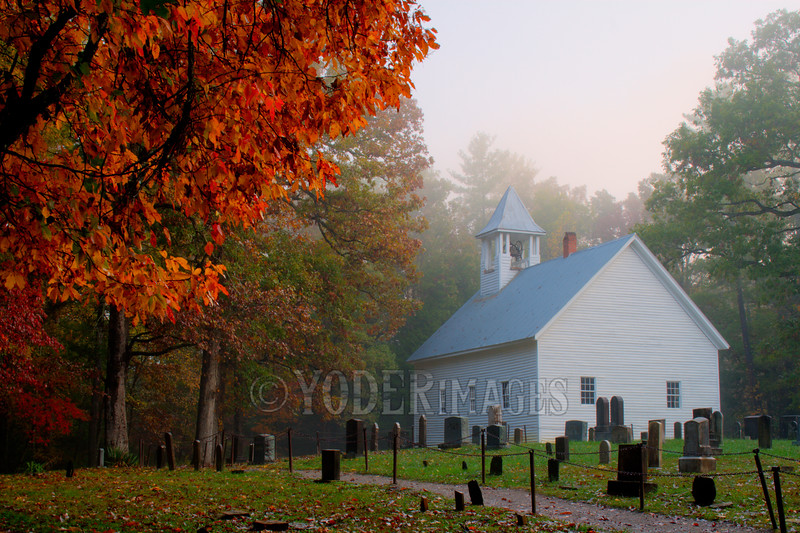 Cades Cove Primitive Baptist Church, Great Smoky Mountains National Park