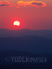 Partial solar eclipse, from Thunder Hill Overlook on the Blue Ridge Parkway on November 3, 2013