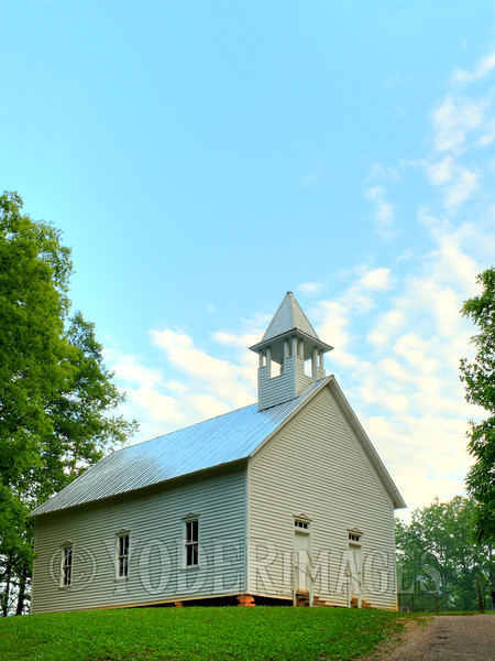 Cades Cove Methodist Church, Cades Cove, Great Smoky Mountains National Park