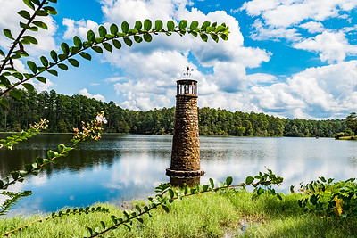 Lighthouse at Hodges Gardens in Louisiana.