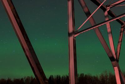 Aurora Borealis on November 15, 2014.