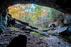 Natural Tunnel Trail in MO on October 11, 2015.