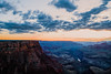 Sunset in the Grand Canyon in May 2015.