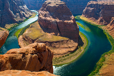 Horseshoe Bend in AZ