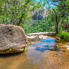 Emerald Pools Trail in Zion National Park