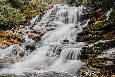 Glen Falls at Highlands, NC on December 18, 2016