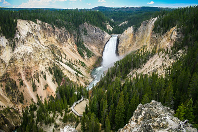 Upper Falls, Yellowstone