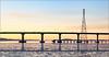 Dunbarton Bridge from Don Edwards  San Francisco Bay Natural Wildlife Refuge  [7D.2015.2175]