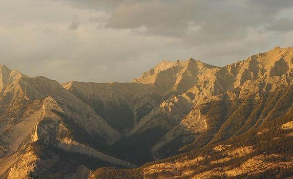 Rockies at Sunrise