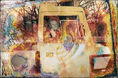 Woman in Van