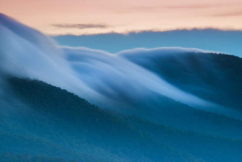 Clouds Flowing
